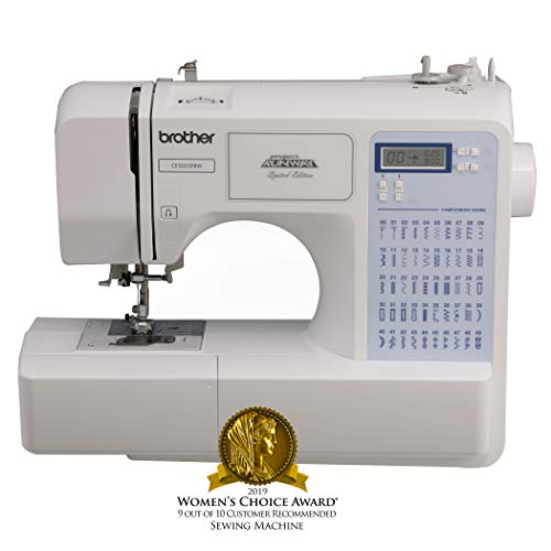 Brother Project Runway CS5055PRW Electric Sewing Machine - 50 Built-In Stitches - Automatic Threading (Husqvarna Sewing Machine)