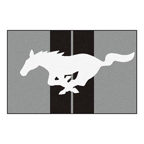 FANMATS 16667 Mustang Horse Starter Rug