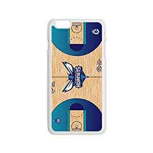Charlotte Hornets NBA White Phone Case for iPhone 6 Case