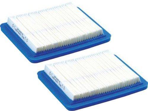 Briggs & Stratton 491588S Flat Air Filter Cartridge (2 Pack) (Briggs Stratton 491588 Air Filter compare prices)