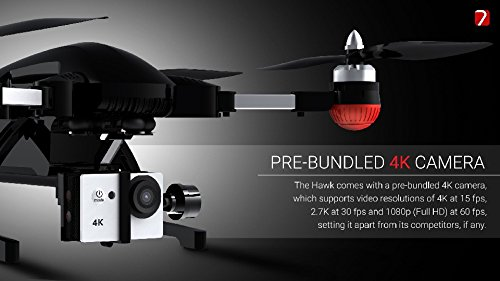41%2BGcWOW0OL Hawk4k Folding Drone With 4k Camera and Watch Controller