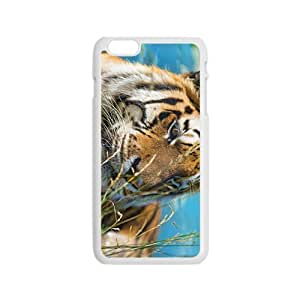 The Tiger Face Hight Quality Plastic Case for Iphone 6
