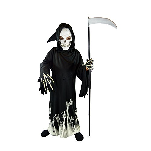 Spooktacular Creations Deluxe Grim Reaper Children Costume Set (L(10-12))