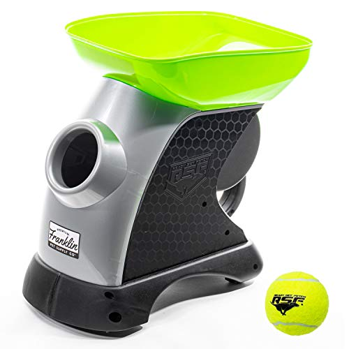 Franklin Pet Supply Ready Set Fetch Automatic Tennis Ball Launcher Dog Toy – Authentic Tennis Ball Thrower – Interactive…
