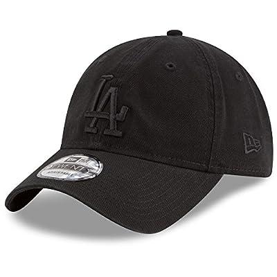 New Era Los Angeles Dodgers Black on Black Core Classic 9TWENTY Adjustable Hat/Cap by New Era