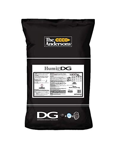 Soil Organic Fertilizers (The Andersons Organic Humic DG Granular Soil Conditioner (Humic Acid), 40lbs Bag)