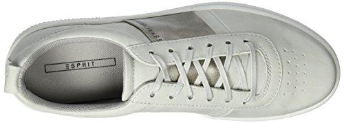 Esprit Damen Desire Lace Up Sneakers Grau (050 Pastello Grigio)