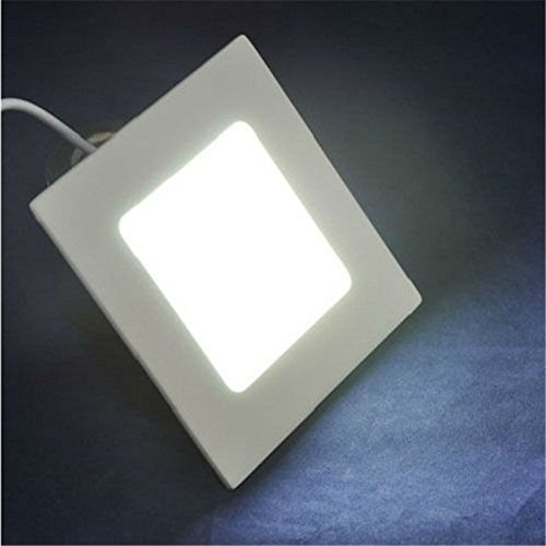 LightInTheBox 3W LED Ceilling Tap Light Recessed LED Panel Lights Warm White Cold White 85-265V for Home/Office Cabinet