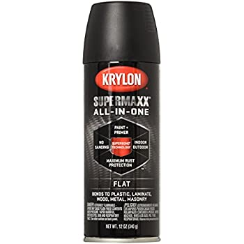 krylon k02519001 fusion for plastic spray paint flat. Black Bedroom Furniture Sets. Home Design Ideas