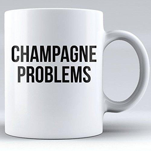 Wine Coffee Mug, Alcohol Drinking Mug, Champagne Mugs Funny, Novelty Mug, Mug for Mom, Sister, Aunt, Friend (white, 11 oz)