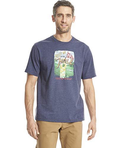 (IZOD Men's Graphic T-Shirt, Anchor 1, X-Large)