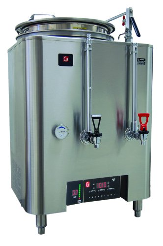 - Grindmaster-Cecilware PB-8113E PrecisionBrew Barista Series 1-Liner Coffee Urn, Pump Style