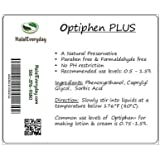 Optiphen Plus - Optiphen + All Natural Preservative 2 Oz - Our formula of Optiphen with Sorbic Acid to Prevent Mold & Bacteria - Enough Preservative for about 12 pound of solution