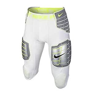 Nike Pro Combat Hyperstrong 3.0 Hard Plate Pants White/Lime 584387-101 (XXL)