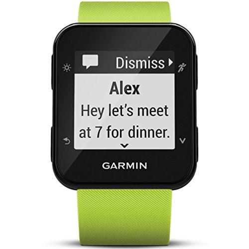 Garmin Forerunner 35 Watch, LimeLight - International Version - US warranty by Garmin (Image #1)
