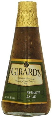 Girard's Spinach Salad Dressing 12 Oz (Pack of - Spinach Dressing Bacon Salad