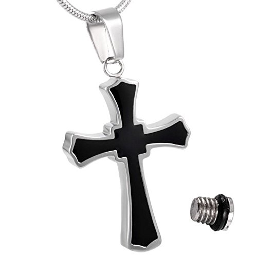 urns for ashes cross necklace - 9
