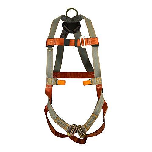 Fusion Climb Vertigo Full Body Adjustable Zipline Harness 23kN M-L Coyote Brown by Fusion Climb