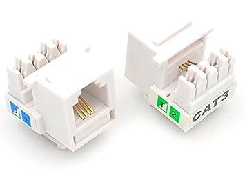 amazon com ubigear 10 pcs lots cat3 rj11 6p4c phone telephone RJ11 to USB image unavailable