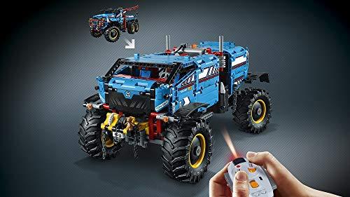 LEGO- Technic Camion Autogrù, Multicolore, 42070 5 spesavip
