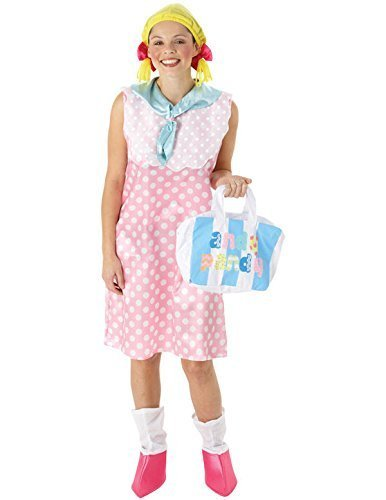 Andy Pandy Costume (Rubies Looby Lou Andy Pandy Adult Fancy Dress Costume Medium)
