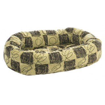 Cheap Bowsers Donut Dog Bed, Microvelvet Dog Days, Small 27″