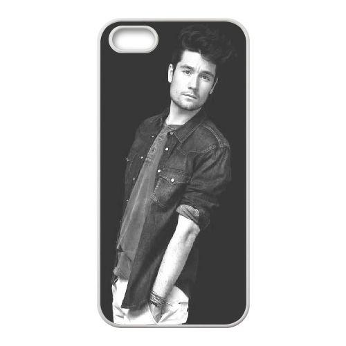 Bastille coque iPhone 5 5S Housse Blanc téléphone portable couverture de cas coque EBDOBCKCO10245