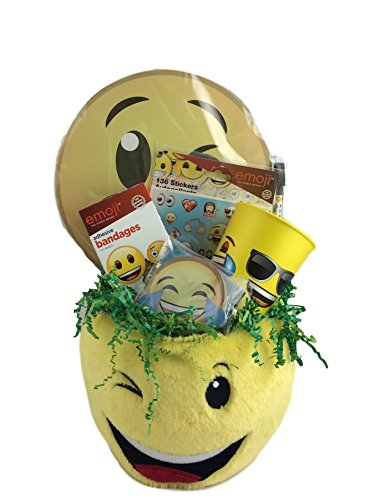 Emoji Get Well Gift Baskets for Kids Boy or Girl Your Special Gift Box Premade Prefilled
