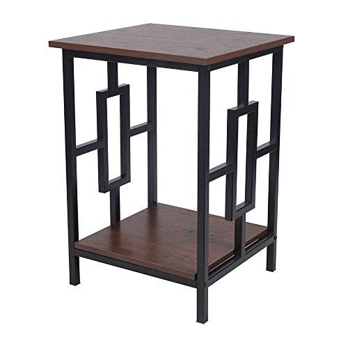 GIA End Table, Antique Black