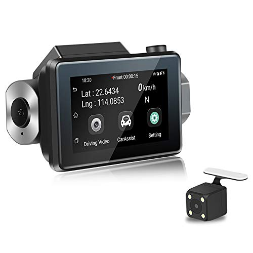 LYXLQ WiFi Driving Recorder, 1080P HD Car DVR Camera 3G Mini Hidden 270° Lens Adjustment WiFi Driving Recorder