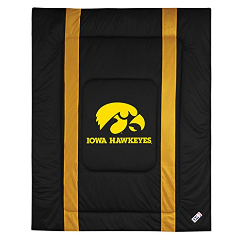 NCAA Iowa Hawkeyes Sideline Comforter Twin Raiders Eye