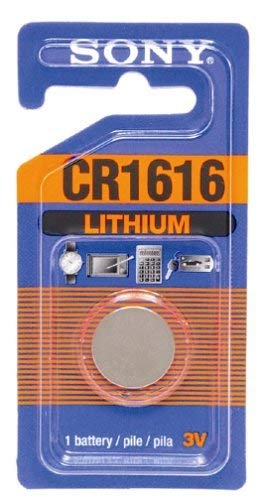 Sony CR1616 Lithium Coin Battery (1 Battery)