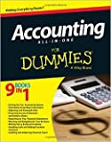 img - for Accounting All-in-One For Dummies by Kenneth Boyd Lita Epstein Mark P. Holtzman1 edition (Textbook ONLY, Paperback) book / textbook / text book