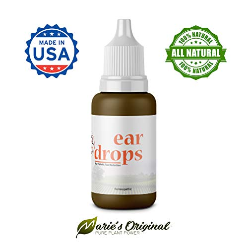 Relief Infection - Natural Ear Drops for Infection Prevention, Pain Relief, Tinnitus, Swimmer's Ear – Homeopathic, Holistic, Vegan Herbal Eardrops for Adults, Children – Made in USA, Healthy, Safe for Kids