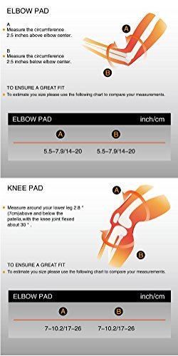 LANOVAGEAR Kids Adjustable Protective Gear Set Knee Elbow Pads Wrist Guards for Skateboard Bicycle Sports Safety (Red, Small) by LANOVAGEAR (Image #6)