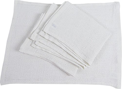 RagLady Ribbed Terry Towels - 15'' x 18'' - Case of 240 Towels - Perfect Cleaning Rag by RagLady (Image #2)