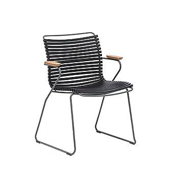 Houe dk Click dining chair, Stuhl mit Bambus Hartholz Armlehnen ...