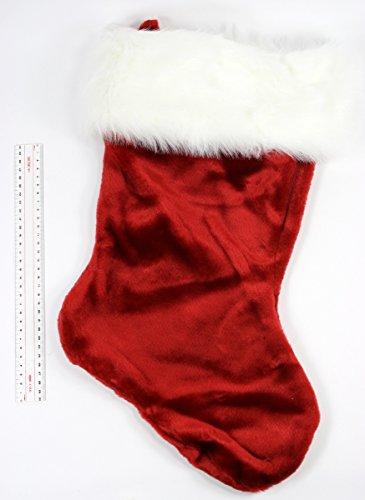 Red Velvet Stocking - 8