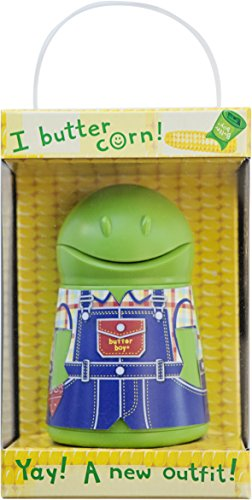 Talisman Designs Butter Boy Butter Keeper & Spreader, Green