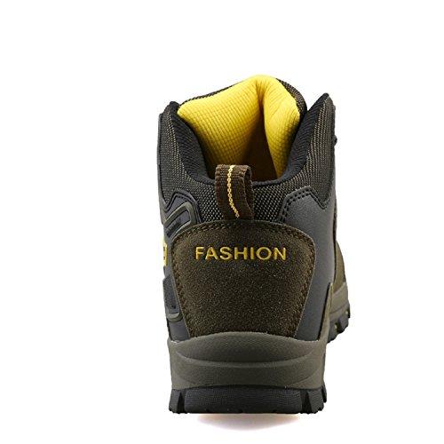 558808ec47ba95 TQGOLD Chaussures de Randonnée pour Homme Femme, Outdoor Sports Cuir  Imperméable Boots ...
