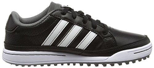 adidas 360 Traxion Unisex - Zapatillas para niños Negro (Core Black / Core Black / Dark Si Ver Metallic)
