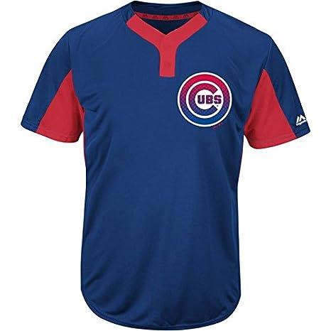 62a237d8 Amazon.com : Majestic Men's Premier Eagle Cool Base 2-Button MLB ...