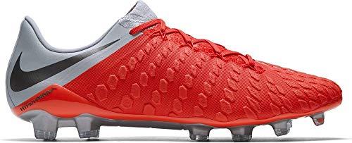 Mtlc Nike Elite Grey de 600 Mixte Chaussures Lt Grey Crimson Adulte Phantom 3 FG Wolf Dark Football Multicolore 1rwqE714