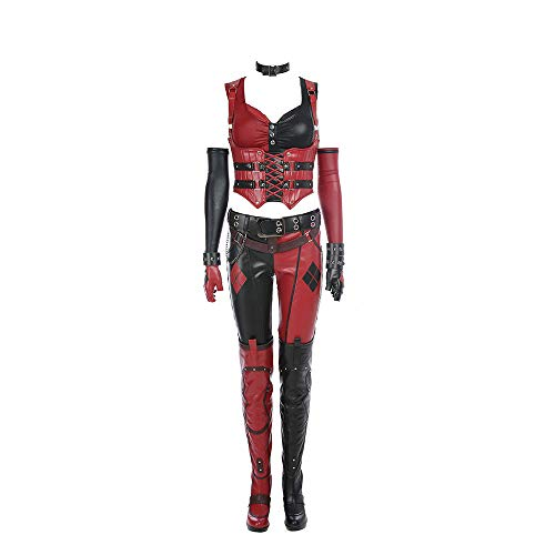 Glam Cos Arkham City - Harley Female Cosplay Costume]()