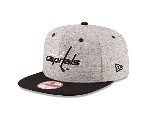 Washington Capitals Snap (NHL Washington Capitals Team Rogue Snap 9Fifty Original Fit Cap, One Size, Gray Heather)