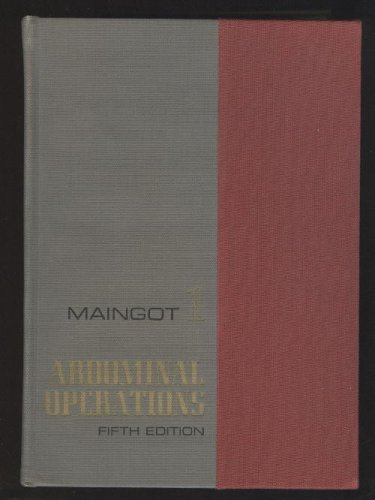 Volumes I & II of Abdominal Operations (Volumes 1 & 2)