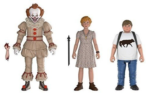 Funko Action Figures  It Pennywise  Beverly  And Ben  3 Pack