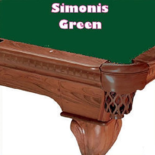 - Simonis Cloth 760 Pool Table Cloth - Standard Green - 8ft