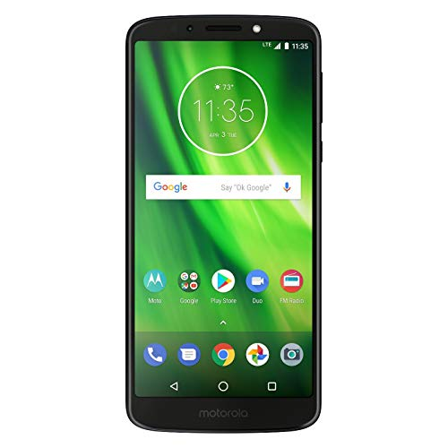 Boost Mobile MOTO G6 Play with 5.7 IPS touch screen fingerprint 16GB Memory Android 8.0 Oreo OS Prepaid Cell Phone, Carrier Locked to Boost - Prepaid Carriers Phone