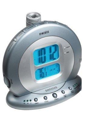 homedics sleep solutions digital projection clock radio w sound spa ss 5075 alarm clocks. Black Bedroom Furniture Sets. Home Design Ideas